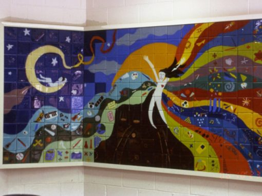 Steward School Tiles