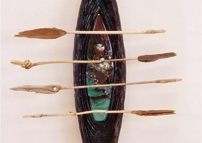 Soul Vessel with Reed Oars