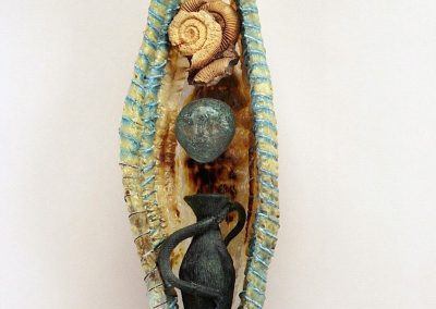 Soul Vessel with Serpent Urn